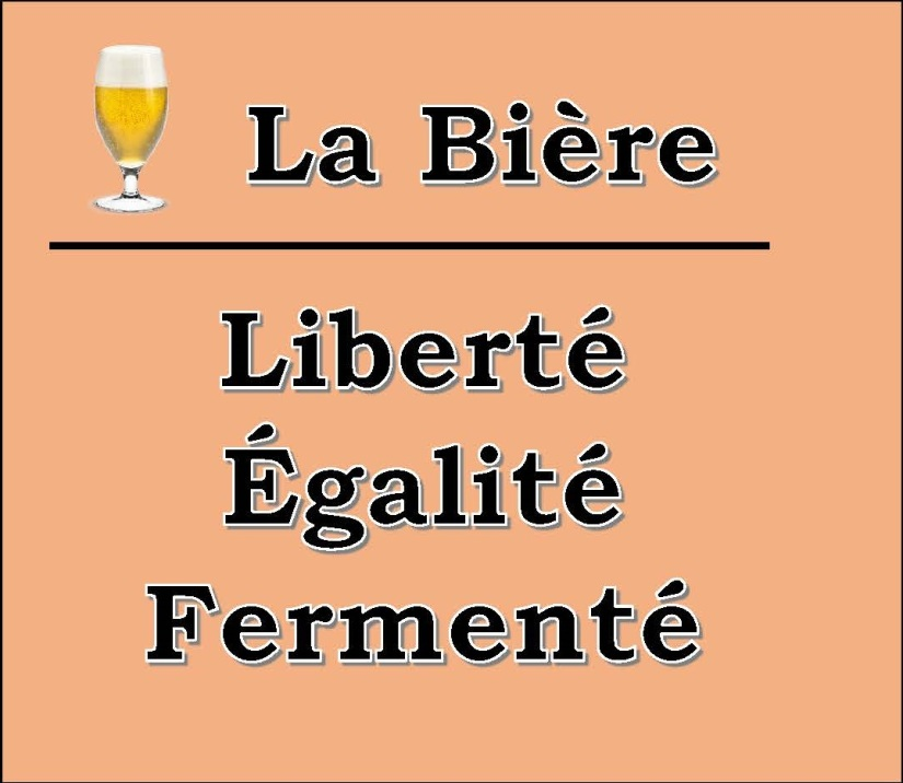 La Bière Slogan Orange
